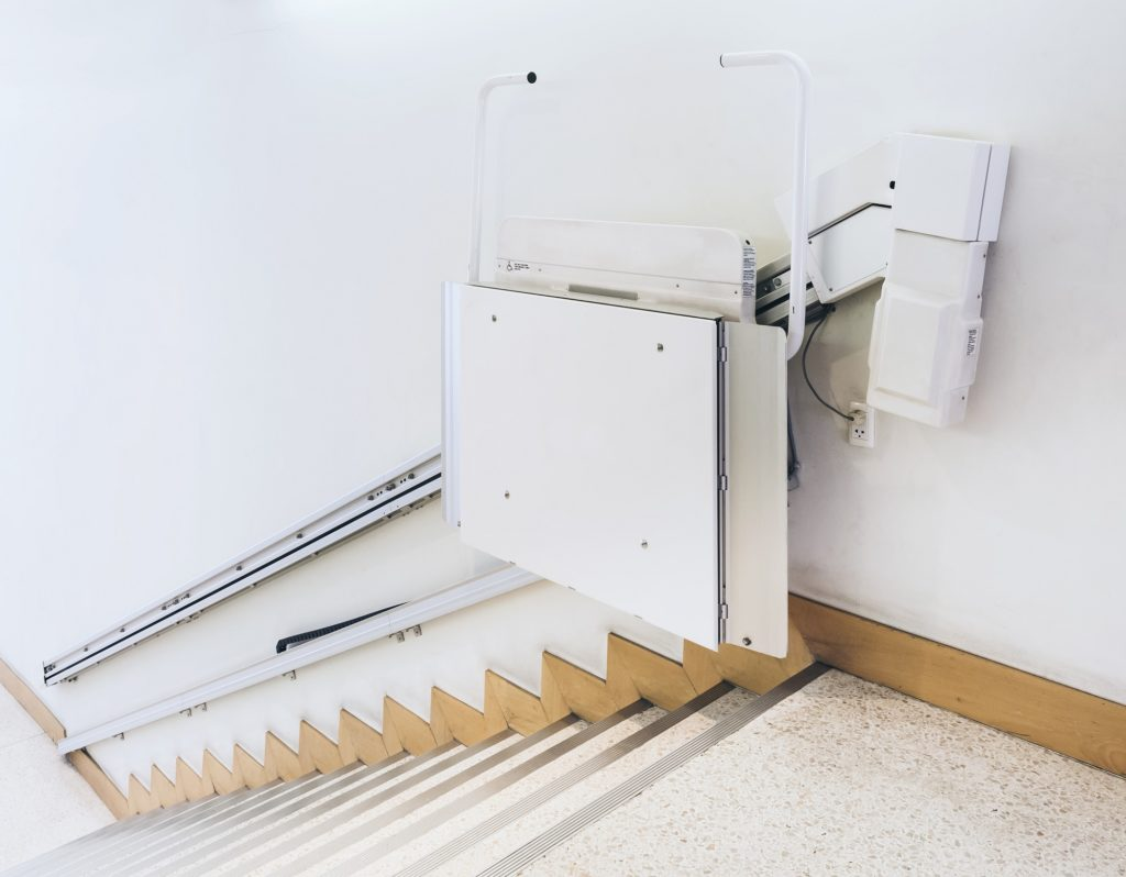 disability stairs facility in house
