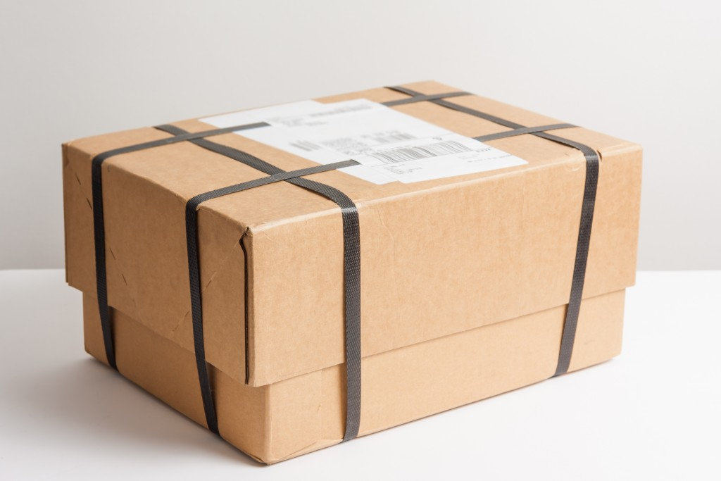products securely packaged