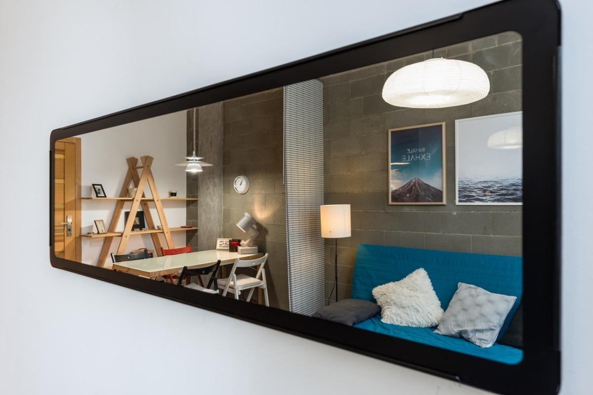 wide mirror