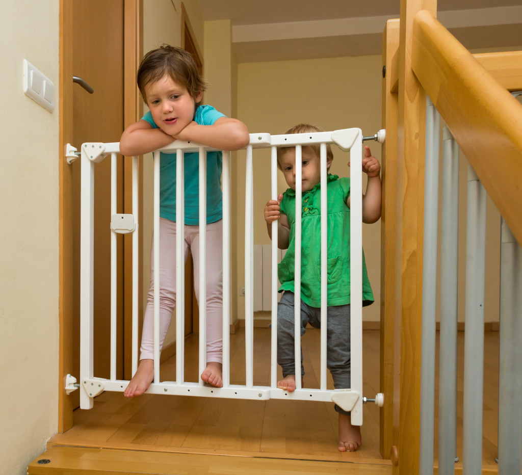 baby-proof fence